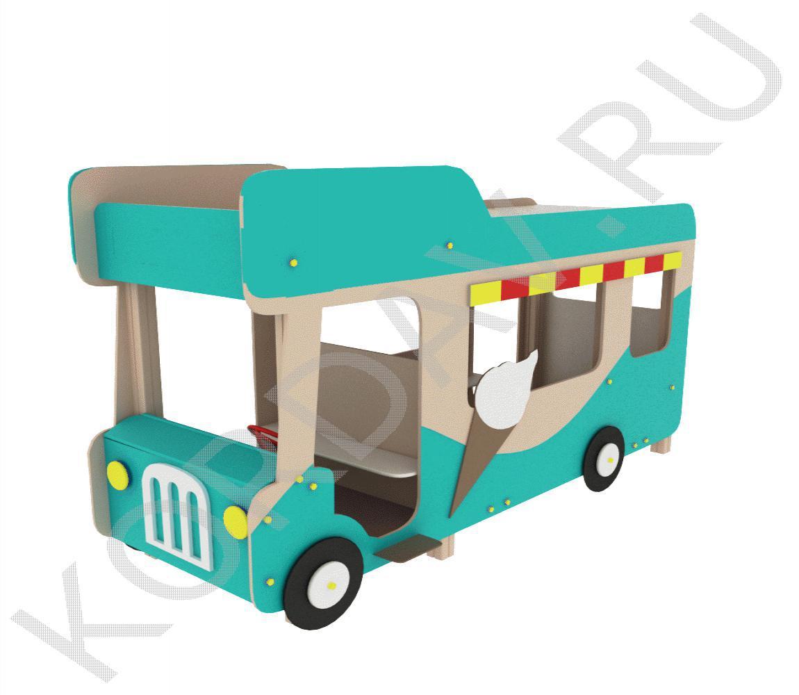 Беседка Автобус-мороженое МАФ 9.121