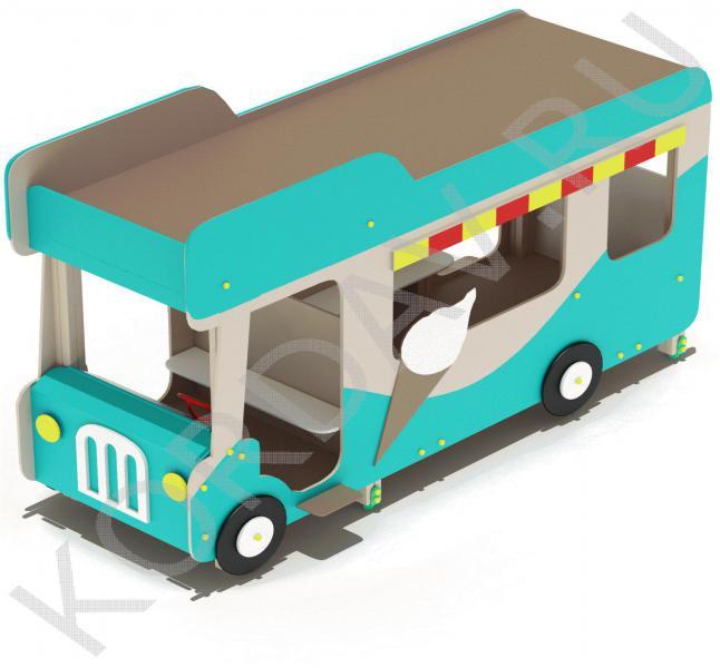 Беседка Автобус-мороженое МАФ 9.121 (0)