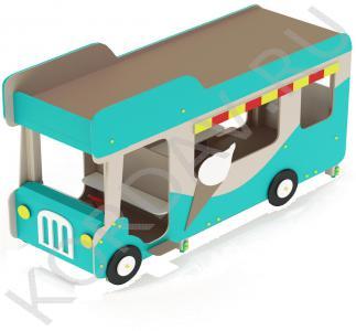 Беседка Автобус-мороженое МАФ 9.121 (1)