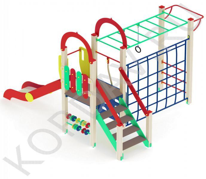 Многопрофильный детский игровой комплекс ПДИ 2.09 (2)