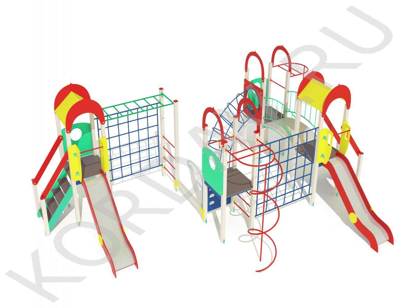 Детский комплекс с многофункциональным оборудованием ПДИ 2.26