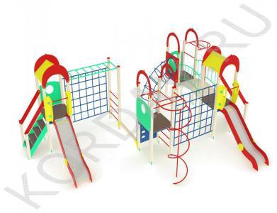 Детский комплекс с многофункциональным оборудованием ПДИ 2.26 (1)