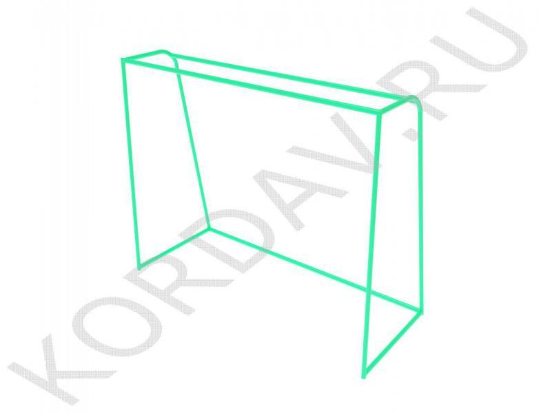 Ворота минифутбольные, гандбольные СИ 6.161 (0)