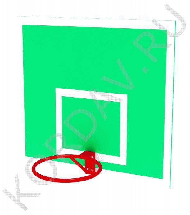 Щит баскетбольный с кольцом СИ 6.181