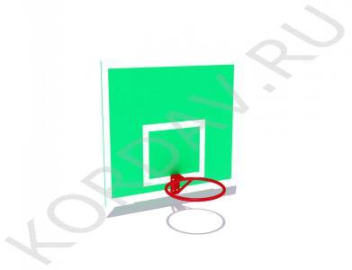 Щит баскетбольный с кольцом СИ 6.181 (0)