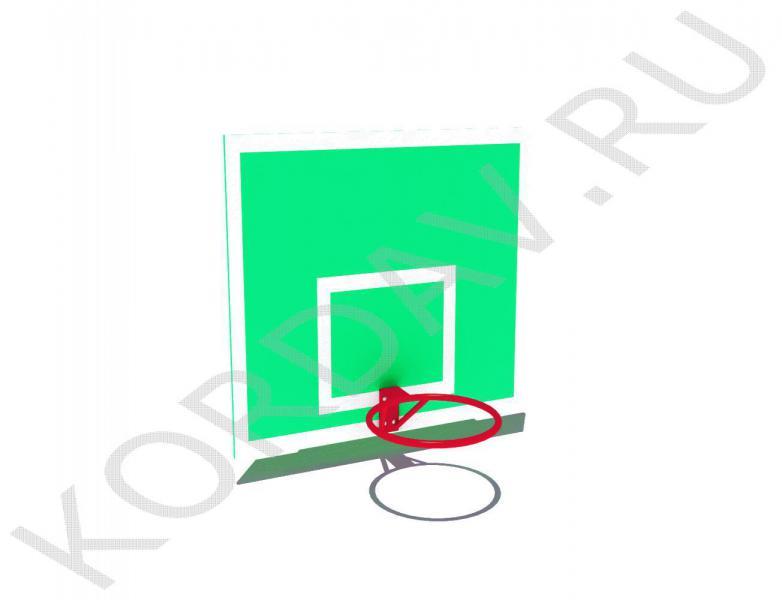 Щит баскетбольный с кольцом СИ 6.181 (1)