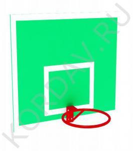 Щит баскетбольный с кольцом СИ 6.181 (2)