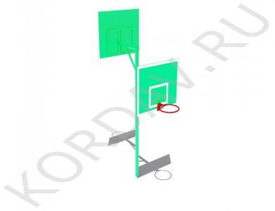 Стойка баскетбольная комбинированная СИ 6.201 (0)