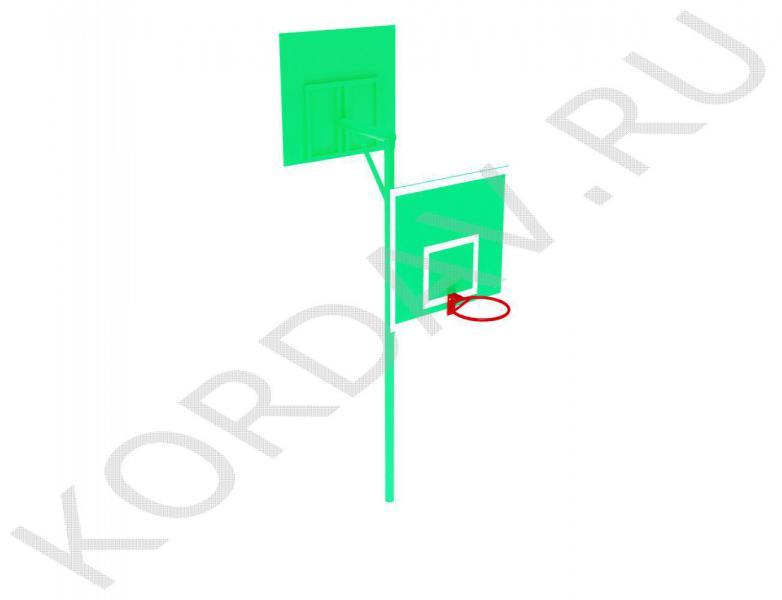 Стойка баскетбольная комбинированная СИ 6.201 (1)