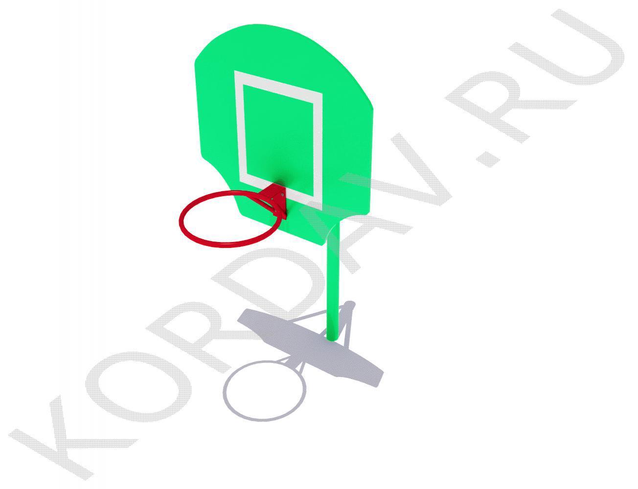 Стойка баскетбольная малая СИ 6.211