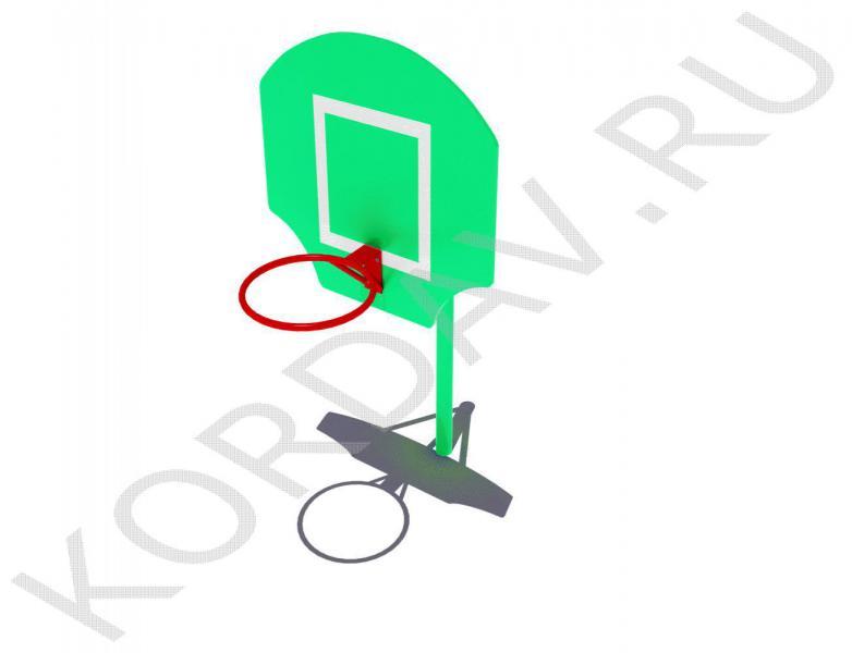 Стойка баскетбольная малая СИ 6.211 (0)