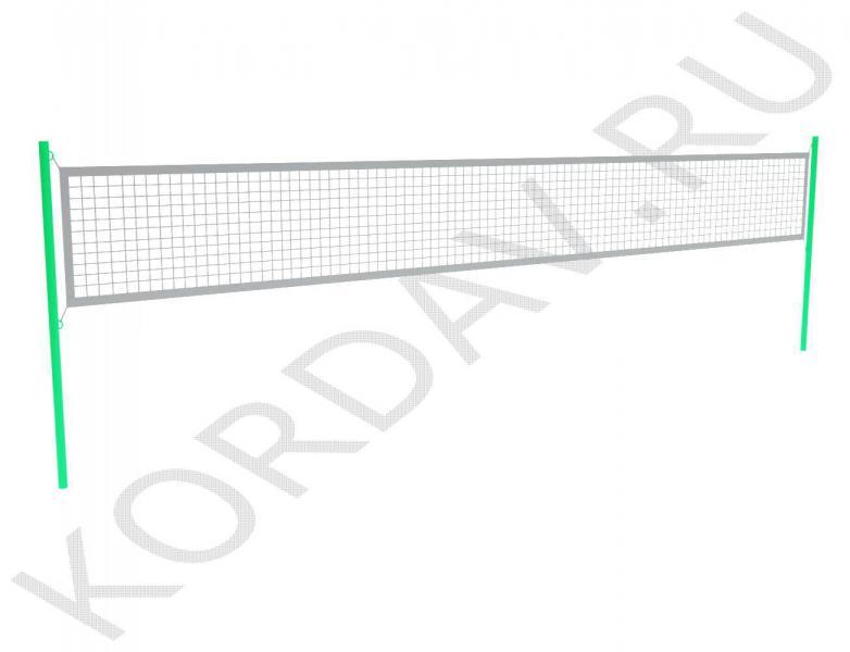 Комплект волейбольных стоек (без сетки) СИ 6.221 (0)