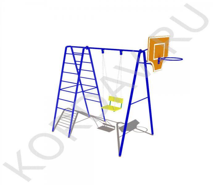 Баскетбольное кольцо, качели, лестницы СК 6.361 (0)