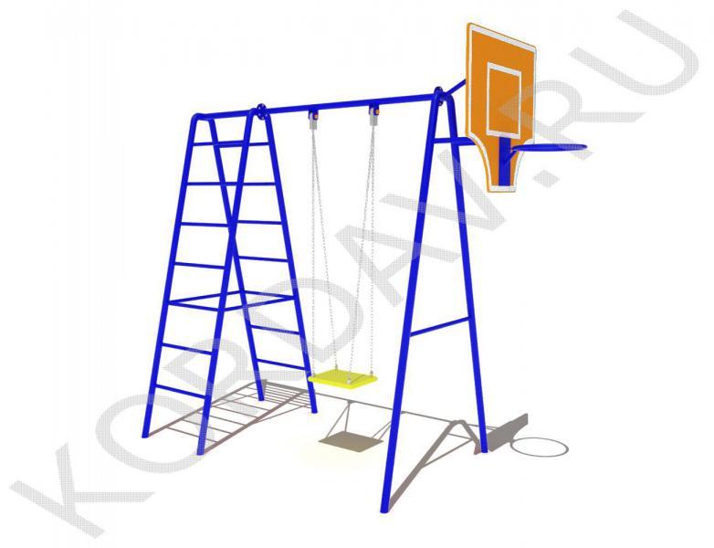 Баскетбольное кольцо, качели, лестницы СК 6.361 (1)