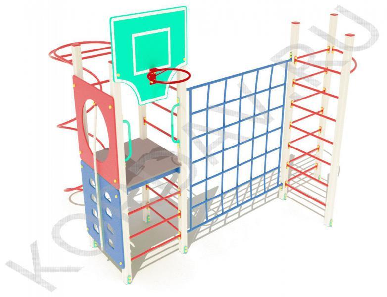Баскетбольное кольцо, шведская стенка, спираль, лазилки СК 6.381 (0)