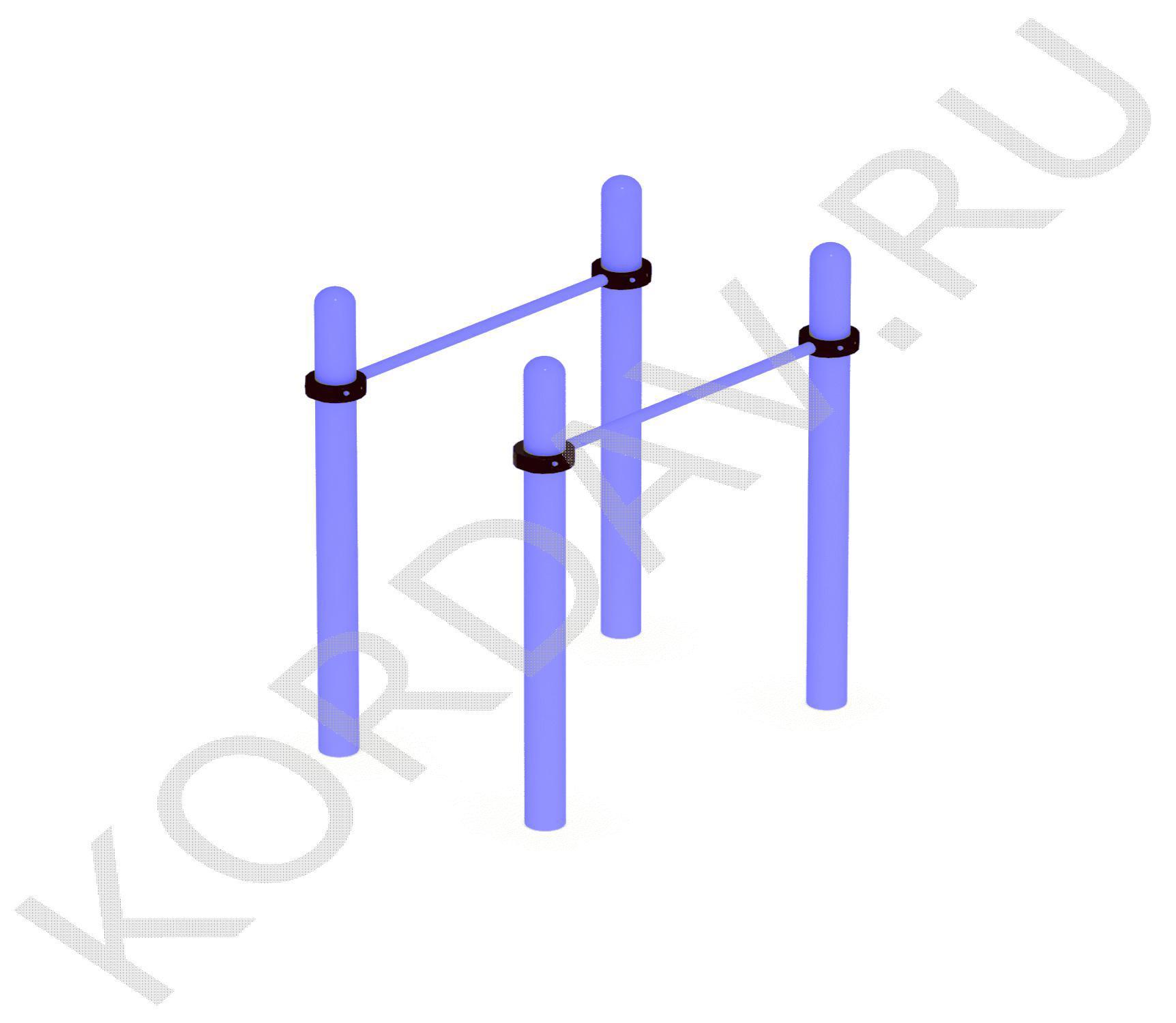 Гимнастические брусья (89 труба) СТ 1.091