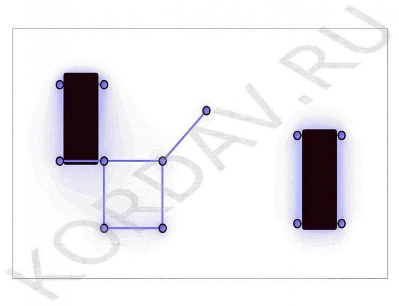 Две скамьи турники и шведская стенка (89 труба) СТ 1.511 (3)