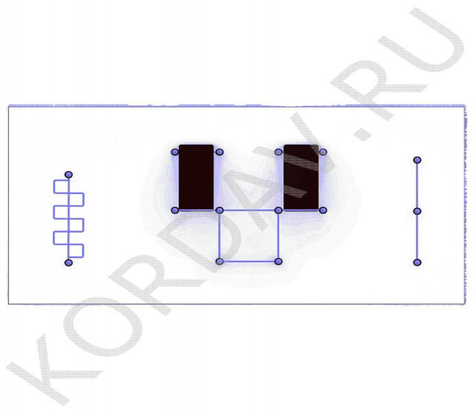 Две лавки, турники, рукоход, шведская стенка (89 труба) СТ 1.591 (3)
