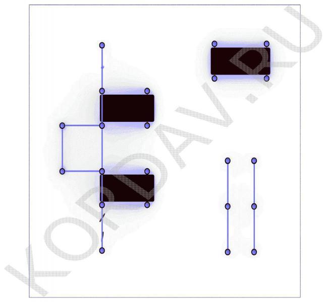 3 Лавки, брусья, кольца канат, турник, шведская стенка (89 труба) СТ 1.611 (3)