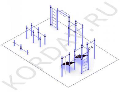Многофункциональный воркаут (89 труба) СТ 1.651 (0)