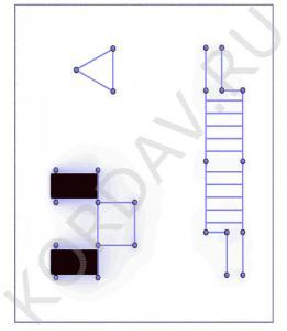 Лавка для пресса, турники, рукоход, упоры для отжиманий, брусья (89 труба) СТ 1.731 (0)
