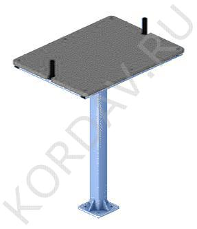 Тренажёр Стол для армрестлинга СТ 3.011 (0)