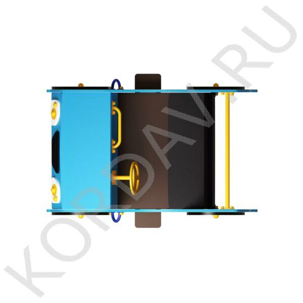 Качалка на пружине Джип двухместный ИО 7.241 (0)