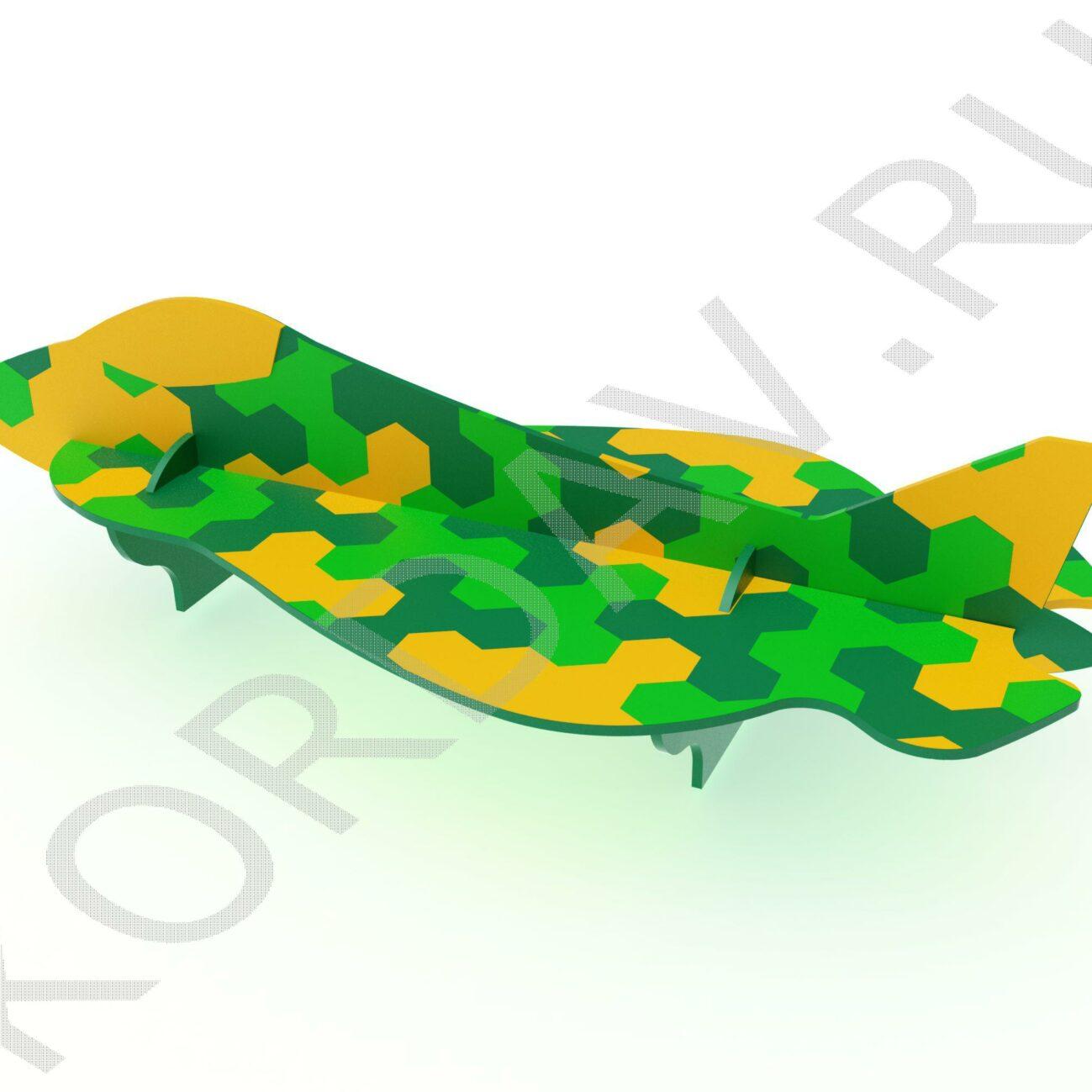 Лавочка Самолёт Перехватчик МАФ 10.231