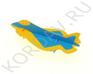 Лавочка Самолёт Перехватчик МАФ 10.231 (4)
