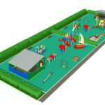 Детская площадка общий вид
