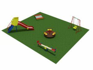 Детская площадка из 5 элементов