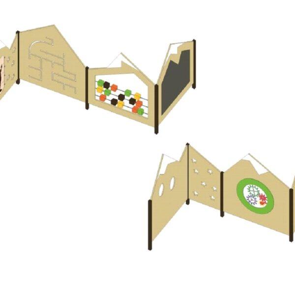 Игровой лабиринт с интерактивными панелями ПДИОВ 3.15 (0)