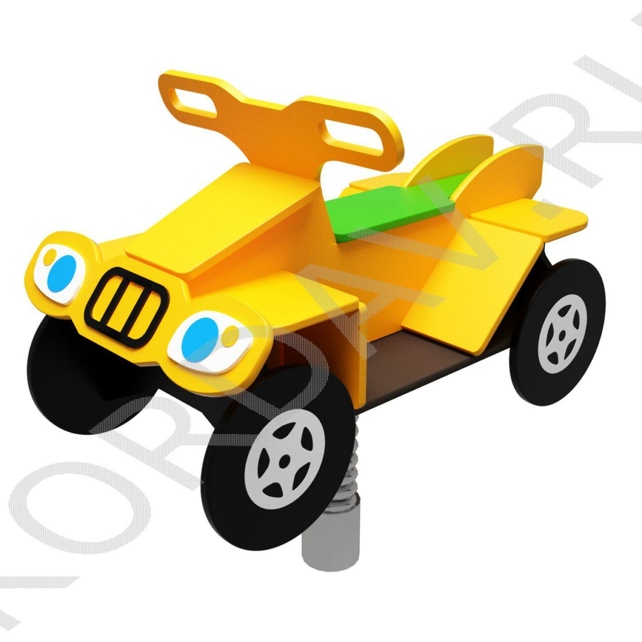 Качалка на пружине Квадроцикл