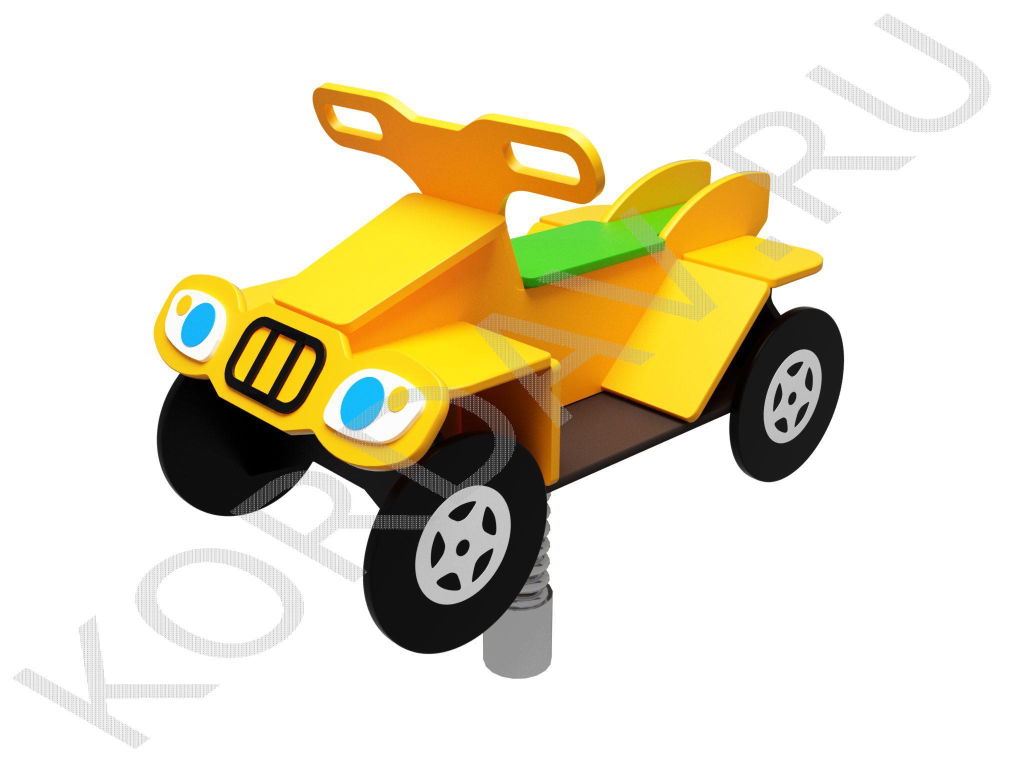 Качалка на пружине Квадроцикл ИО 7.243