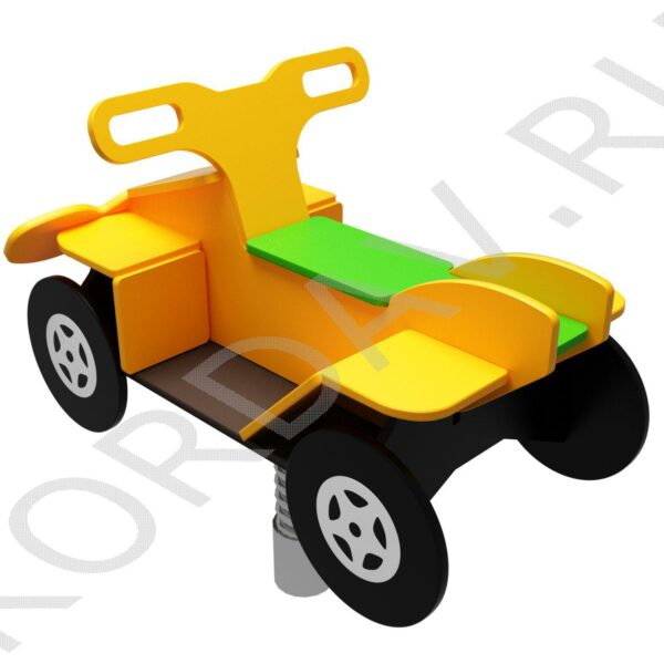 Качалка на пружине Квадроцикл (1)