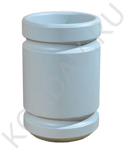 Урна бетонная, круглая, окрашенная Корда 033