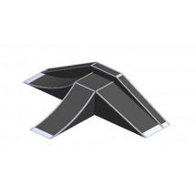 Фанбокс, разгонная горка, двойной клин, эстакада ПФ11
