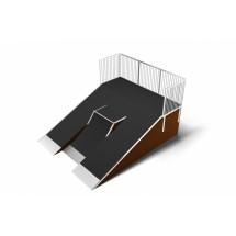 Разгонка наклонная с кикером (Kiker flatbank 1.5) РК13