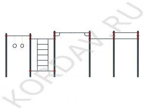 Воркаут СТ 1.433 (89 труба) (1)