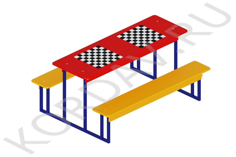 Столик шахматный МАФ 10.040