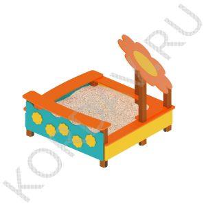 Песочница с Цветком МАФ 8.262 (0)