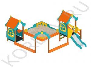Песочный дворик  Терем МАФ 8.421 (0)
