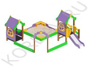 Песочный дворик  Терем МАФ 8.421 (1)
