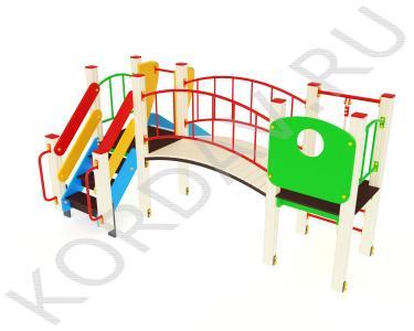 Детский комплекс для игр от трёх лет ПДИ 1.03 (0)