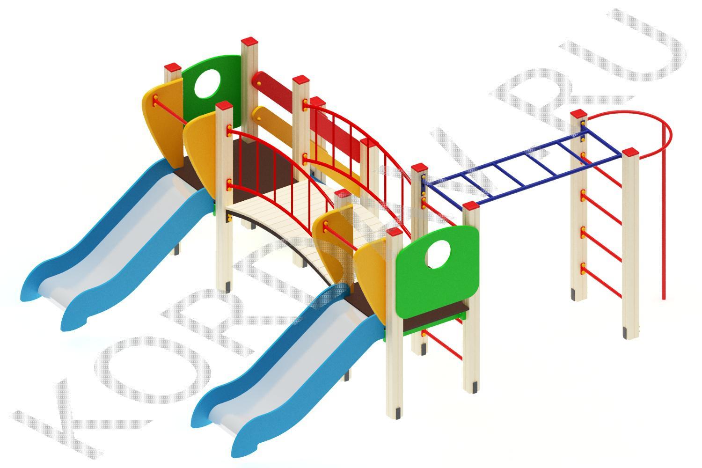 Детский комплекс для игр ПДИ 1.04