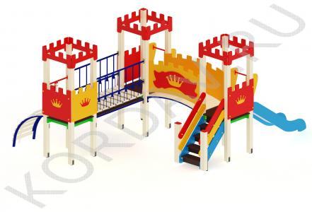 Детский комплекс с тремя башенками ПДИ 1.10 (0)
