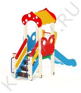 Детский игровой комплекс с домиком ПДИ 1.15 (0)