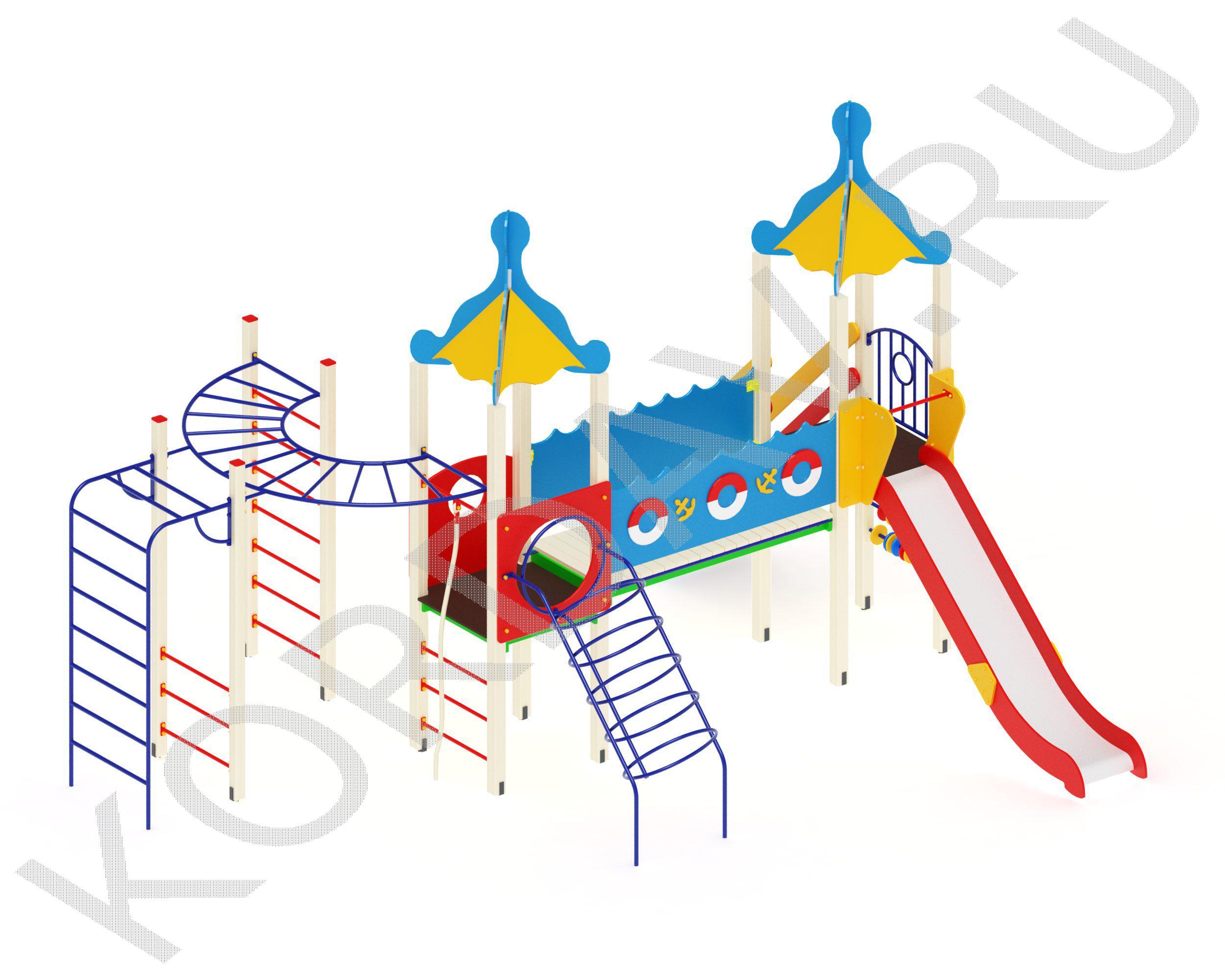 Детский комплекс Море ПДИ 2.63